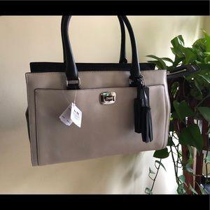 NWT Coach Legacy Chelsea Two-Tone Carryall Handbag